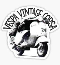 Vespa Corsa Vintage Sticker