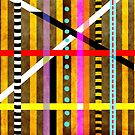 Striped Geometric Lines Vertical Horizontal Checkered Gingham Special 2017 by rupydetequila