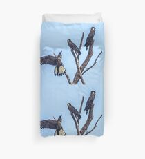 Yellow Tailed  Duvet Cover