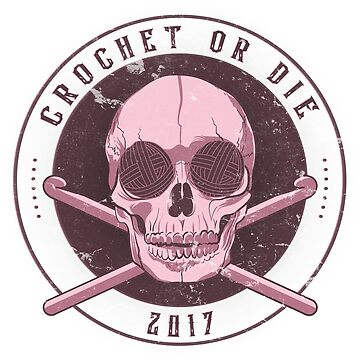 Crochet Or Die - Pink by heroics