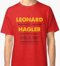 Leonard vs Hagler Classic T-Shirt