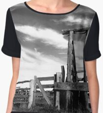 Rustic yards Women's Chiffon Top