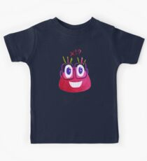 Cute Geek Watercolor Candy Character Loves Math Kids Clothes