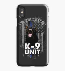 Protect & Serve: K-9 Unit iPhone Case/Skin