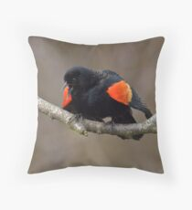 Attracting a Mate Throw Pillow
