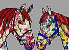 Paint Horses by Juhan Rodrik