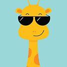 Cool Giraffe by cartoonbeing