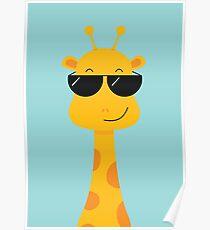 Cool Giraffe Poster