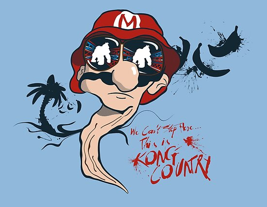 Fear and Loathing in the Mushroom Kingdom by KentZonestar