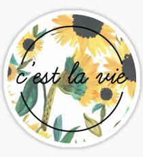 C'est La Vie Sticker