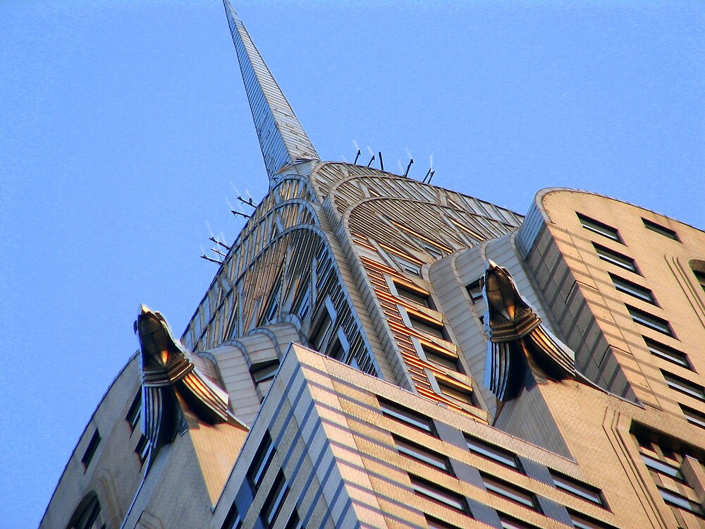 Under the Chrysler Building by JanG