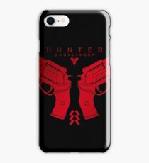 Hunter Red Shooter Guns iPhone Case/Skin