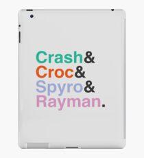 PLAYSTATION - Classic Heroes iPad Case/Skin