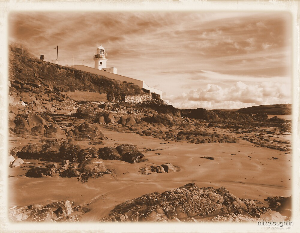 Vintage Light-house by mikeloughlin