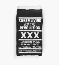 Straight edge XXX Revolution Hardcore Duvet Cover