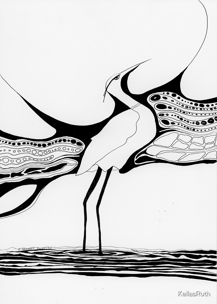 Bird(HERON) by KellasRuth