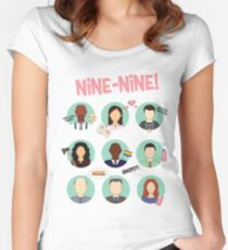 Brooklyn Nine-Nine Squad Women's Fitted Scoop T-Shirt