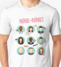 Brooklyn Neun-Neun-Kader Slim Fit T-Shirt