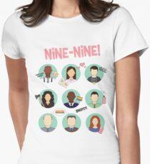 Brooklyn Nine-Nine Squad Women's Fitted T-Shirt