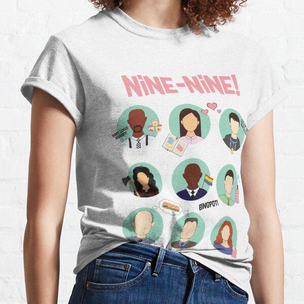 Brooklyn Nine-Nine Squad T-shirt classique
