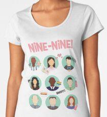 Brooklyn Nine-Nine Squad Women's Premium T-Shirt