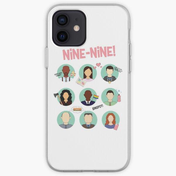Brooklyn Nine-Nine Squad iPhone Soft Case