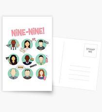 Brooklyn Nine-Nine Squad Postcards