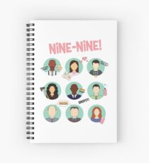 Brooklyn Nine-Nine Squad Spiral Notebook