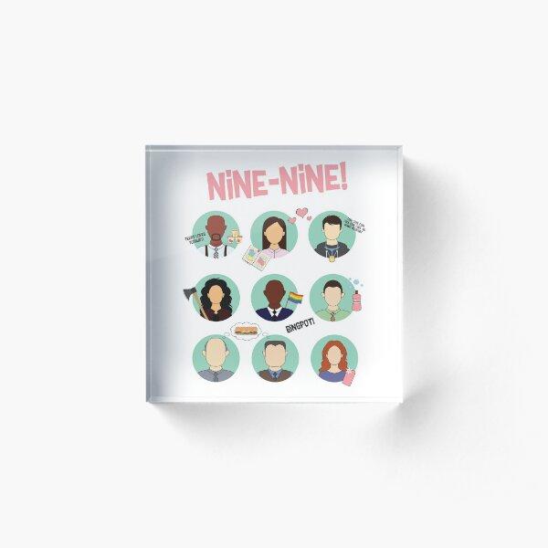 Brooklyn Nine-Nine Squad Bloque acrílico