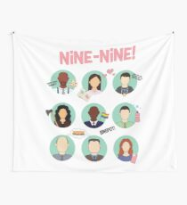 Brooklyn Nine-Nine Squad Wall Tapestry