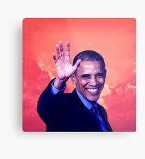 Obama - Coloring Book Metal Print