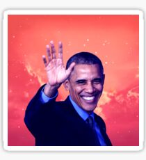 Obama - Coloring Book Sticker