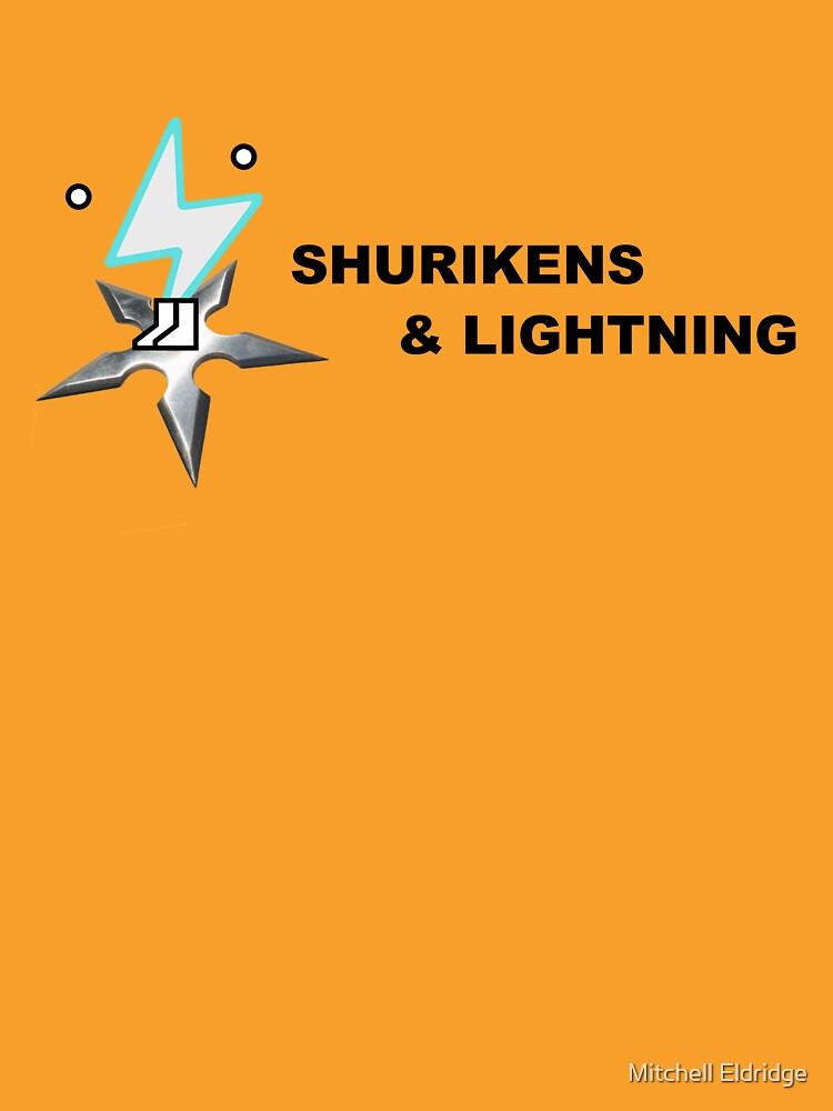 Shurikens and Lightning by xXSn0wyXx