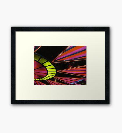 Neon 55 Framed Print