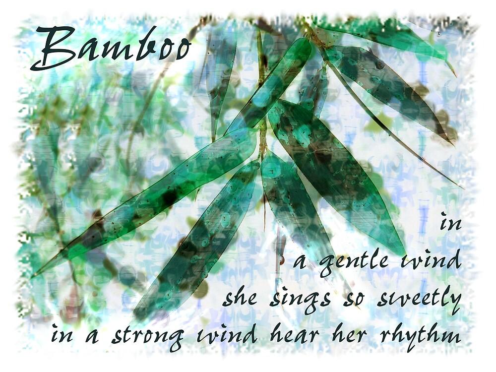 Bamboo In A Gentle Rain...gentle wind by Karen Erdmann