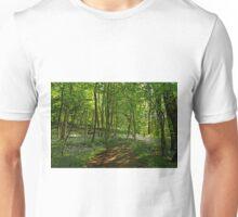 Bee Wood, Bluebells Unisex T-Shirt