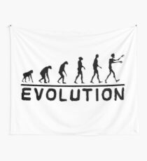 Zombie evolution Wall Tapestry
