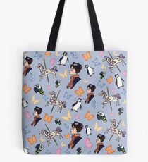 Mary Poppins Pattern Tote Bag