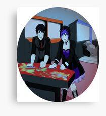 Arcade Time Canvas Print