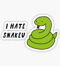 BTS - I hate snakeu Sticker