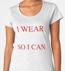 I Wear Glasses So I Can C# Programmer Developer Coder Geek T-shirt Meme joke shirts Women's Premium T-Shirt