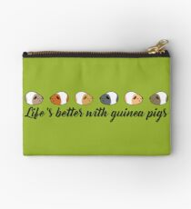 Life's better with guinea pigs Studio Pouch