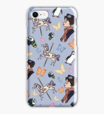 Mary Poppins Pattern iPhone Case/Skin