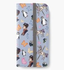 Mary Poppins Pattern iPhone Wallet/Case/Skin