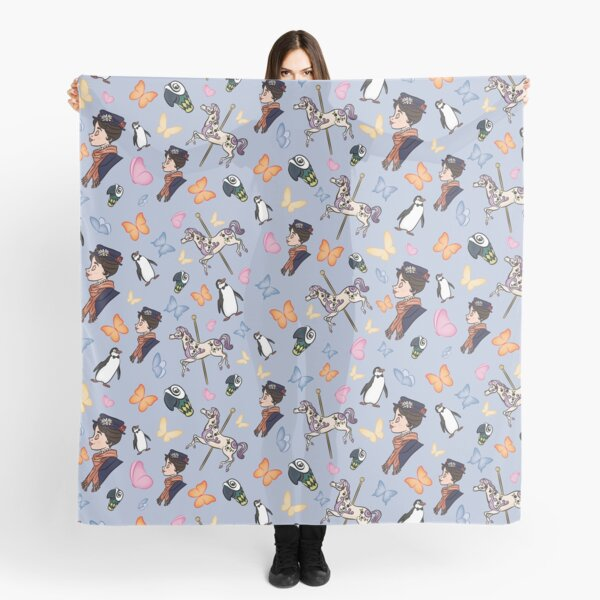 Mary Poppins Pattern Scarf