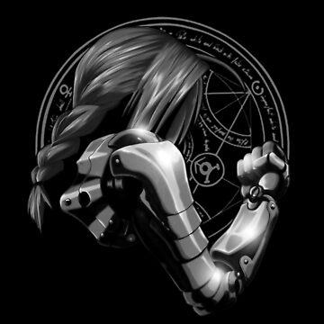 ed metal arm by opawcreate