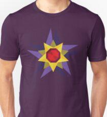 Geometric Water Type Pokemon Design - Starmie Unisex T-Shirt