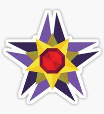 Geometric Water Type Pokemon Design - Starmie Sticker