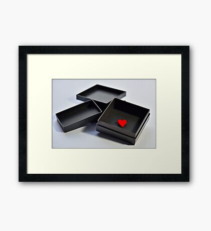 All I Have To Offer You Framed Print