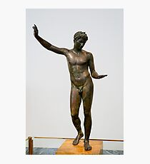 Greece, Athens, National Archaeology Museum. male body Photographic Print